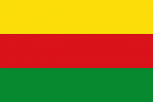 Vlag van Bilzen MunsterBilzen