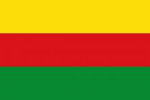 Vlag van Bilzen - Rosmeer