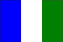 Vlag van Bocholt Kaulille