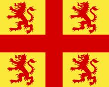 Vlag van Nevele