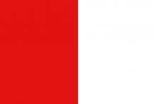 Vlag van Sint-Pieters-Leeuwf